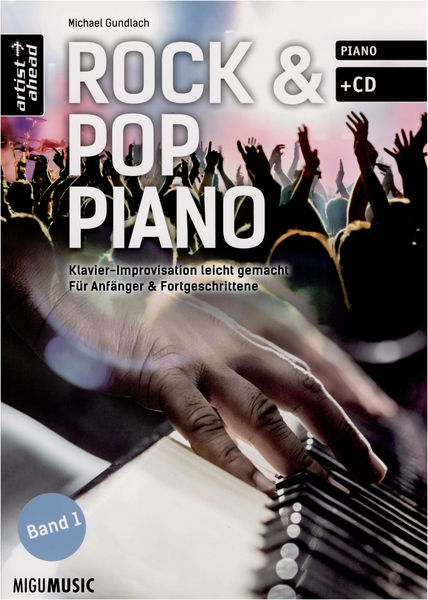 Artist Ahead Musikverlag Rock & Pop Piano