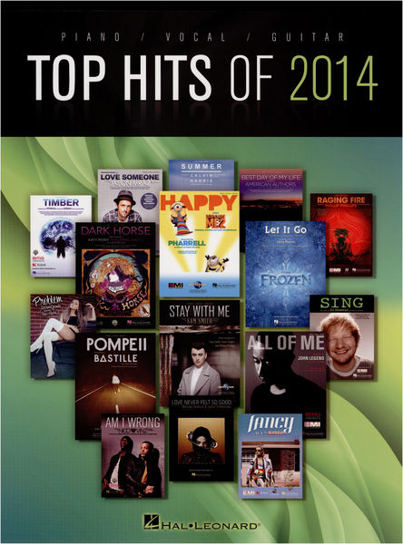 Hal Leonard Top Hits Of 2014