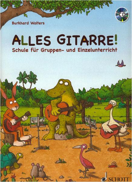Schott Alles Gitarre! +CD