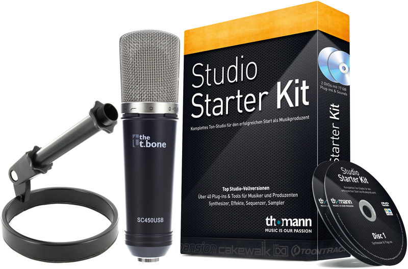 the t.bone SC 450 USB Podcast Rec. Bundle