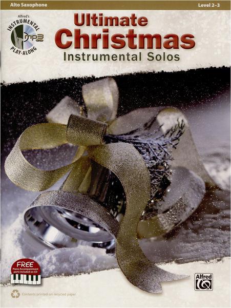 Alfred Music Publishing Instrumental Christmas AltoSax