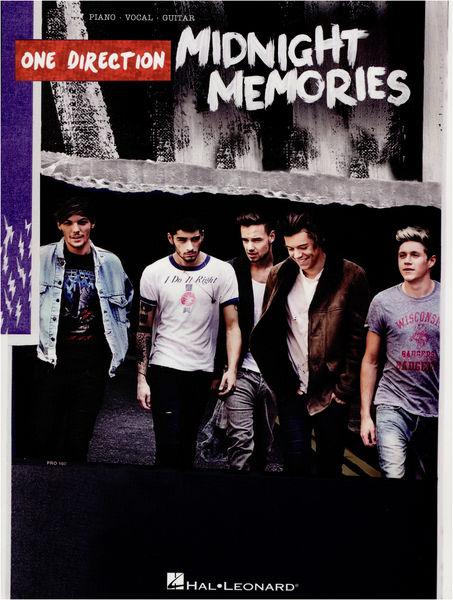 Hal Leonard One Direction MidnightMemories