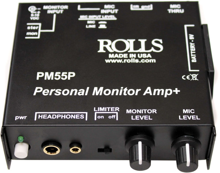 Rolls PM 55P Personal Monitor Amp