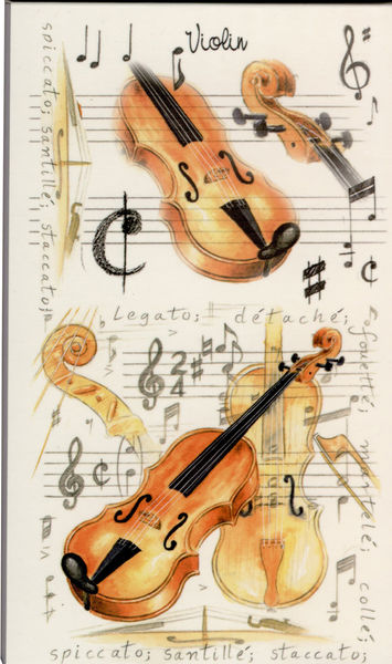 Music Sales Pocket Notepad: Violin