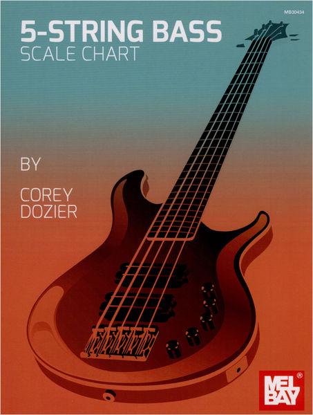 Mel Bay 5-String Bass Chart