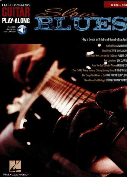 Hal Leonard Guitar Play Along: Slow Blues