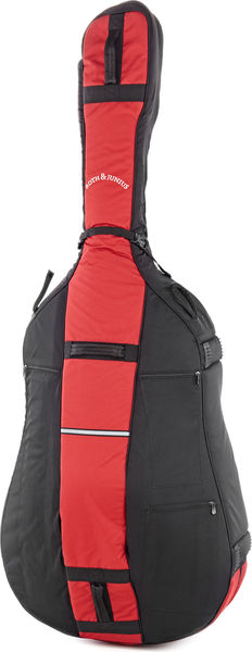 Roth & Junius BSB-01 3/4 RD/BK Bass Soft Bag
