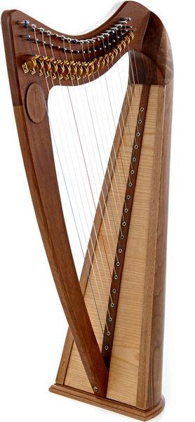 Thomann CLH-19W Celtic Lever Harp