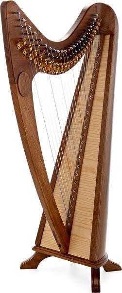Thomann CLH-24W Celtic Lever Harp