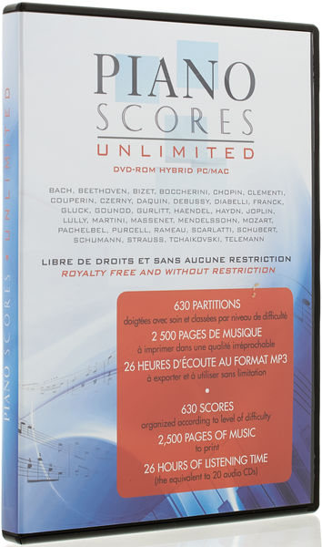 Prodipe Piano Scores Unlimited V1