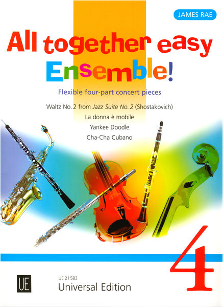 Universal Edition All Together Easy Ensemble 4