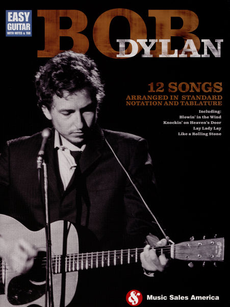 Hal Leonard Bob Dylan Easy Guitar Tab