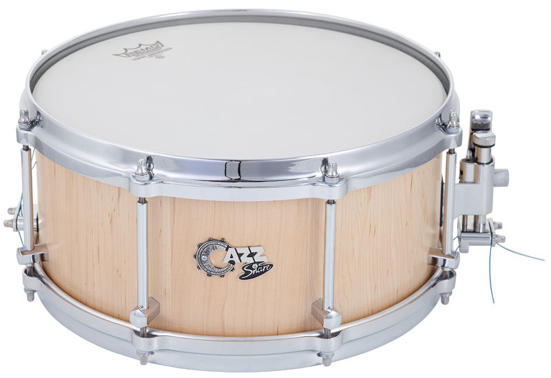 "CAZZ Snare 13""x6"" Maple Natural Satin"