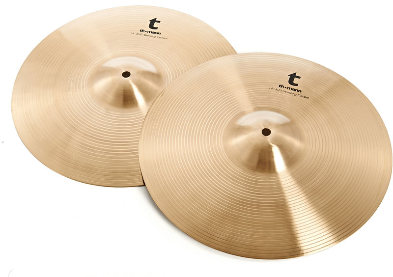 "Thomann 14"" B20 Marching Cymbals"
