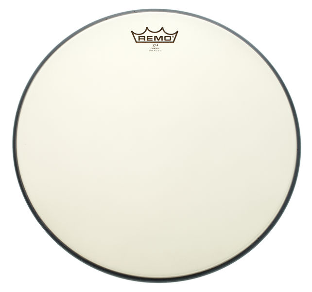 "Remo 14"" Ambassador X14 Coated"