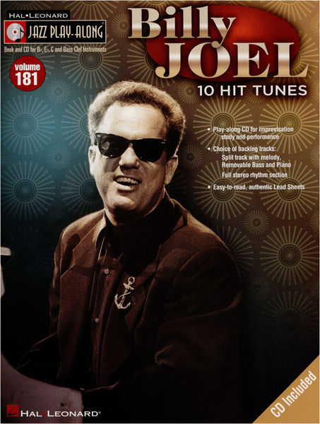 Hal Leonard Jazz Play Along Billy Joel