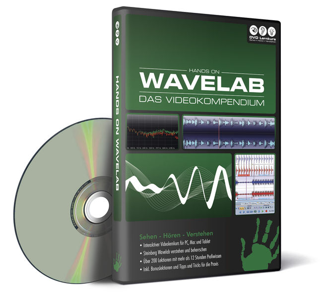 DVD Lernkurs Hands On Wavelab Kompendium