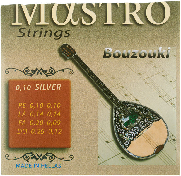 Mastro Bouzouki 8 Strings 010 SP