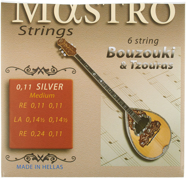 Mastro Bouzouki 6 Strings 011 SP