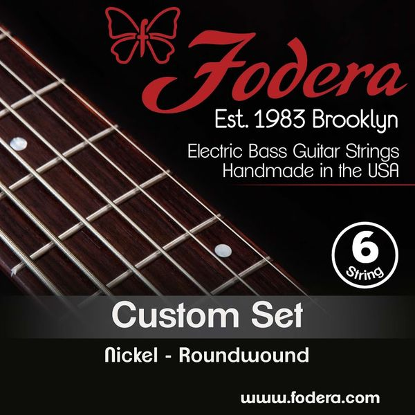 Fodera 6-String Set Custom Nickel