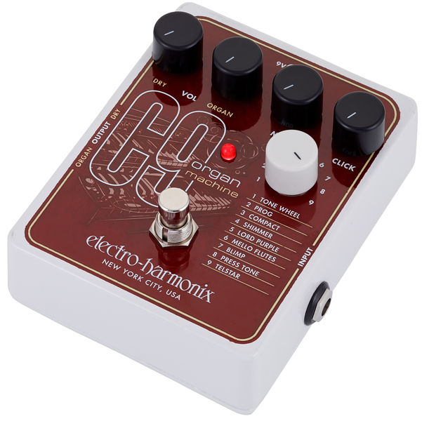 843d6d8dcf833 Electro Harmonix C9 Organ Machine – Thomann UK