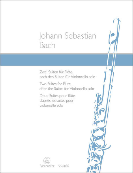 Bärenreiter Bach Two Suites For Flute