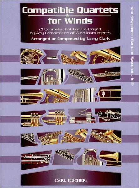 Carl Fischer Compatible Quartets Alto Sax.