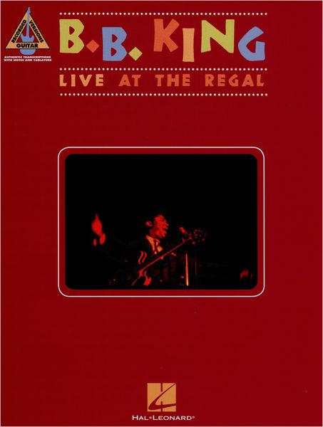 Hal Leonard B. B. King: Live At The Regal