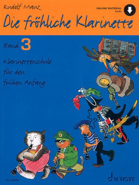 Schott Die Fröhliche Klarinette 3