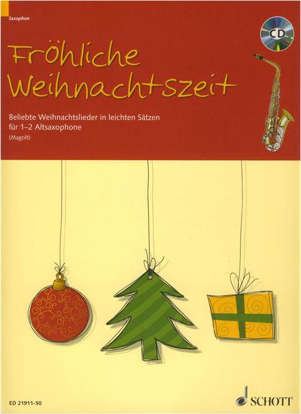 Schott Weihnachtszeit A-Sax +CD