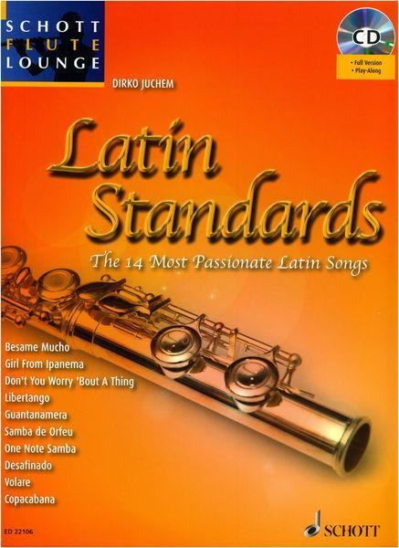 Schott Latin Standards Flute