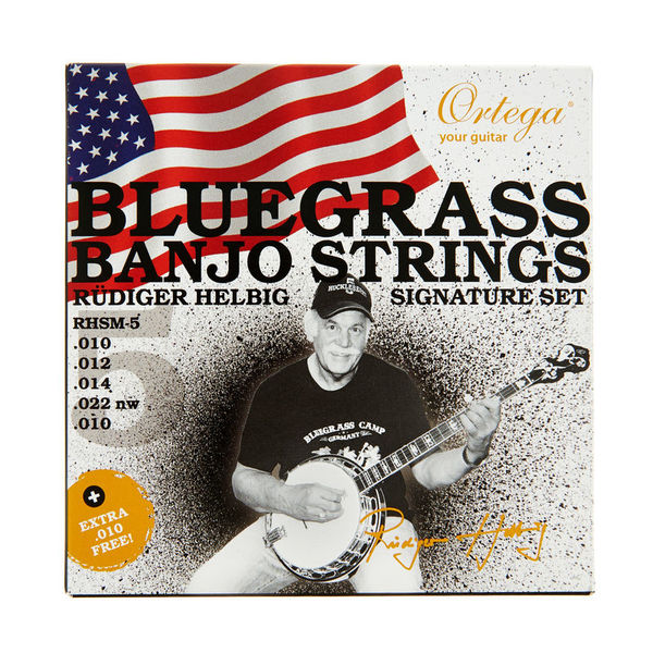 Ortega RHSM-5 Bluegrass Banjo Set