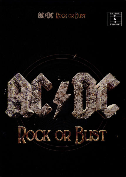 Wise Publications AC/DC: Rock Or Bust (TAB)
