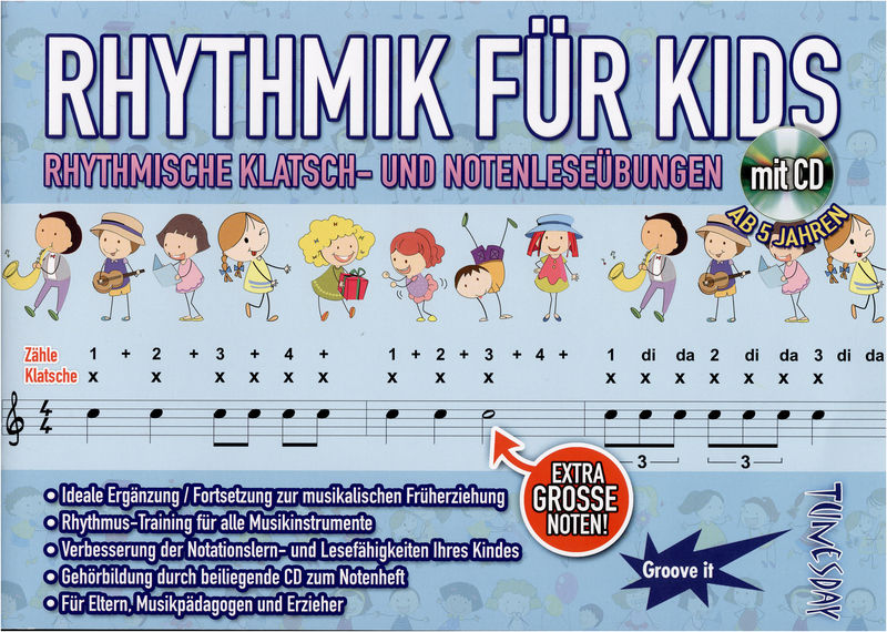 Tunesday Records Rhythmik for Kids