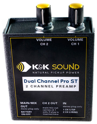 K&K Dual Channel Pro Preamp ST