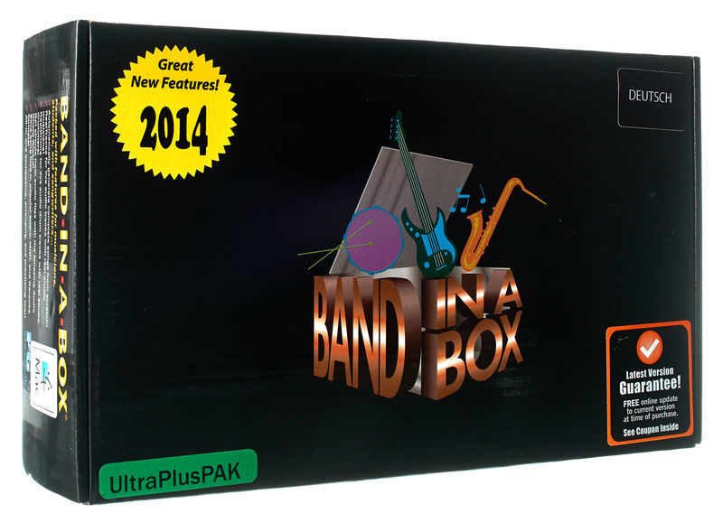 PG Music BiaB 2015 UltraPlus Mac G