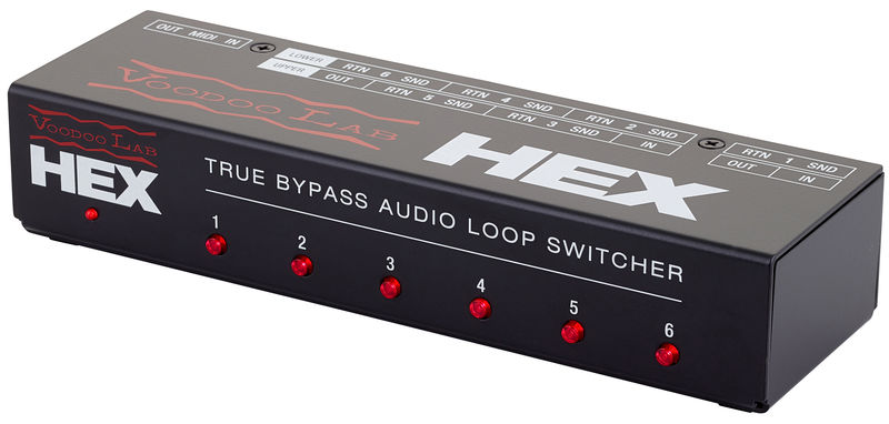 Voodoo Lab HEX Audio Loop Switcher