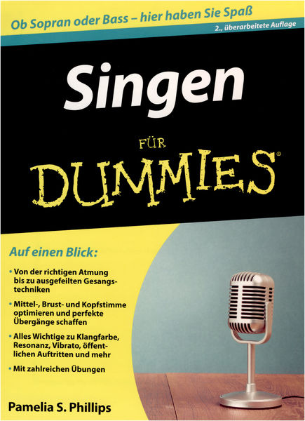 Wiley-Vch Singen for Dummies