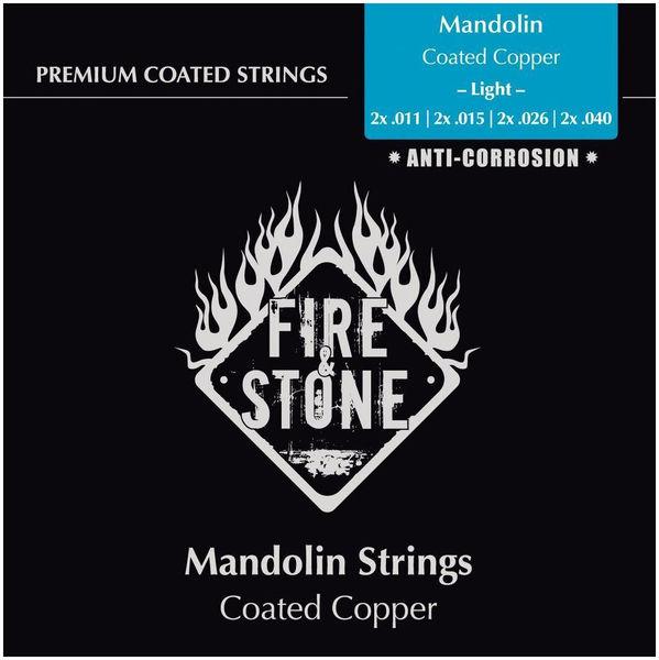 Fire & Stone Mandolin Strings Light