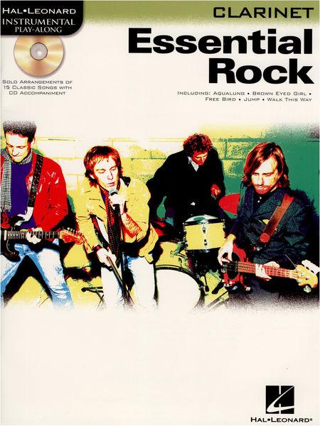 Hal Leonard Essential Rock Clarinet