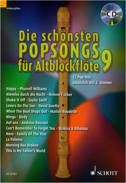 Schott Schönsten Popsongs Vol.9 Alt