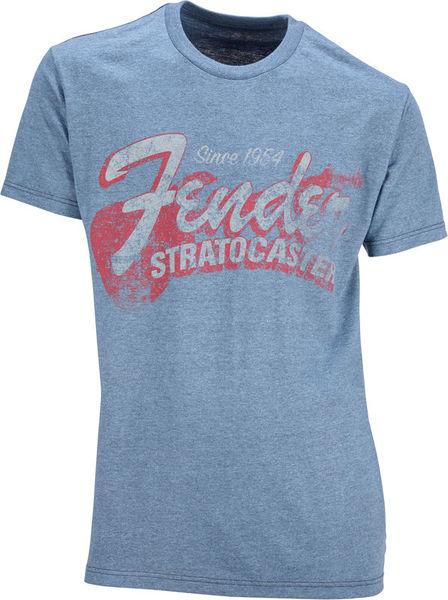 Fender T-Shirt Stratocaster Navy M