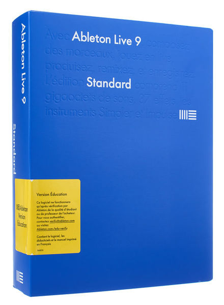 Ableton Live 9 French Edu