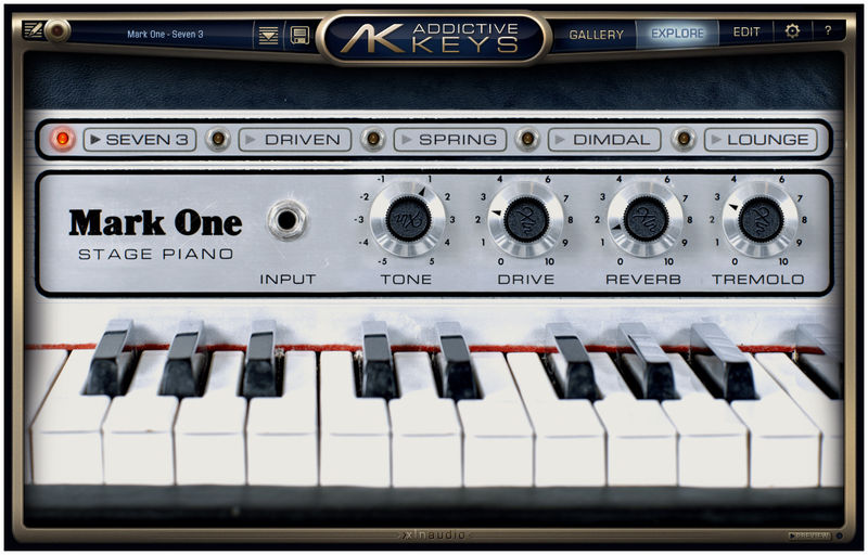 XLN Audio Addictive Keys Trio