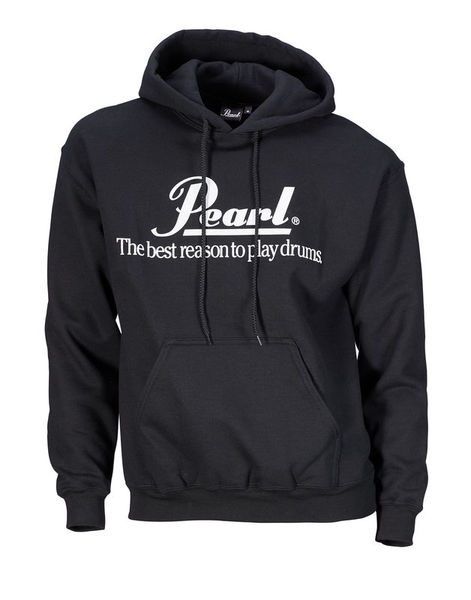 Pearl Sweat Hoody Black L