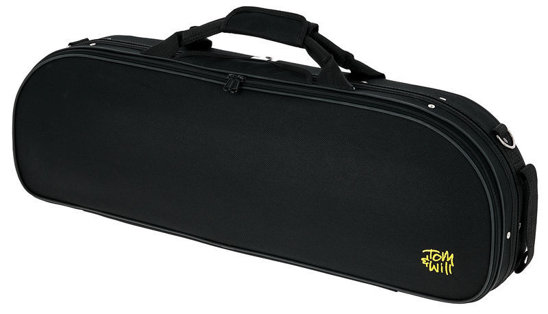 Tom & Will 44VL44 Oval Violin Case BK