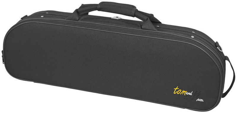Tom and Will 44VL44 Oval Violin Case BK