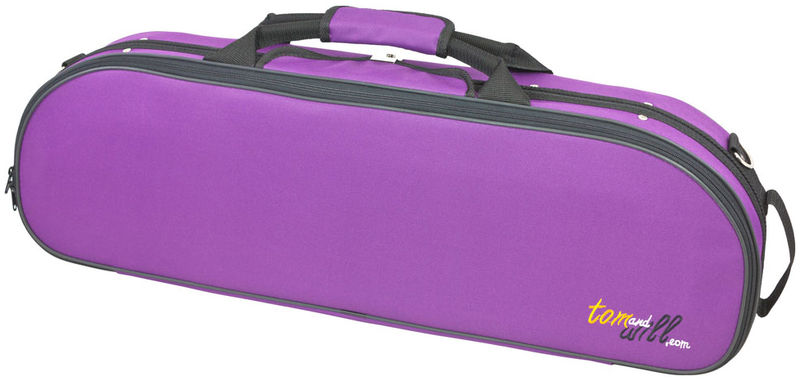 Tom and Will 44VL44 Oval Violin Case PU