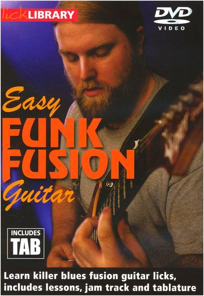 Music Sales Easy Funk Fusion Guitar