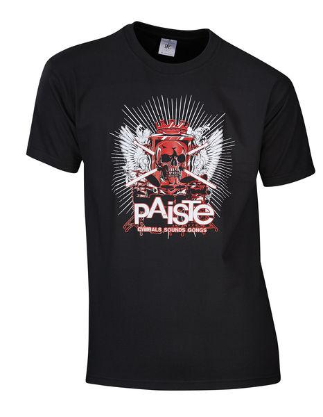 Paiste T-Shirt Skull S